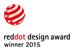 RED DOT DESIGN AWARD GEWONNEN