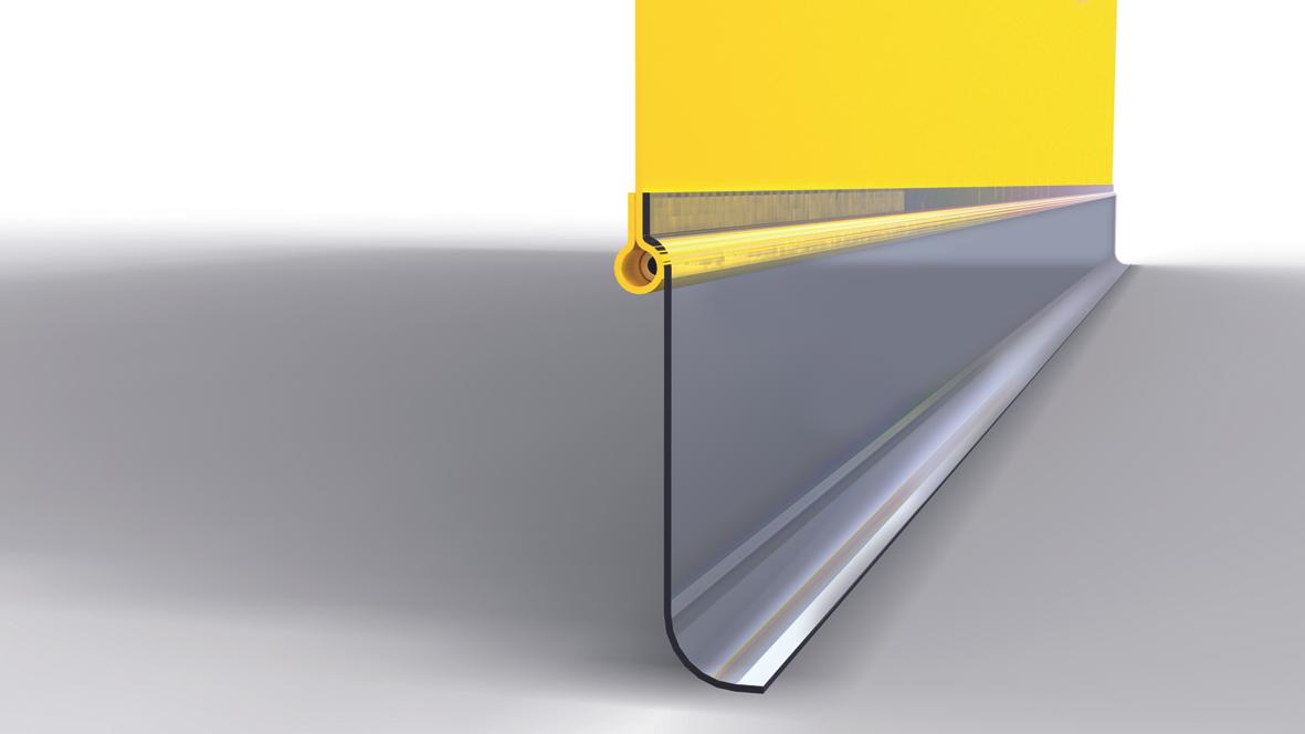 Bodenabschluss Seitenbehang