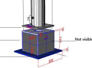 Terrassenadapter 190 mm hoch persp (003)