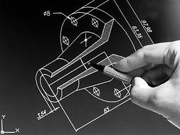 Technische Zeichnung Konstruktion