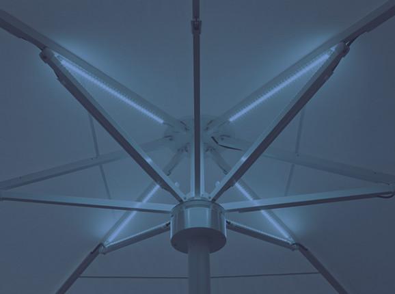 IPOMEA LED Blau