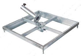 Schirmständer, Stahl verzinkt für bis zu 8 Platten