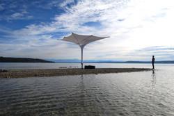 Sonnenschirm als mobile Überdachung