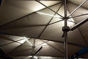 Sonnenschirm beleuchtet LED