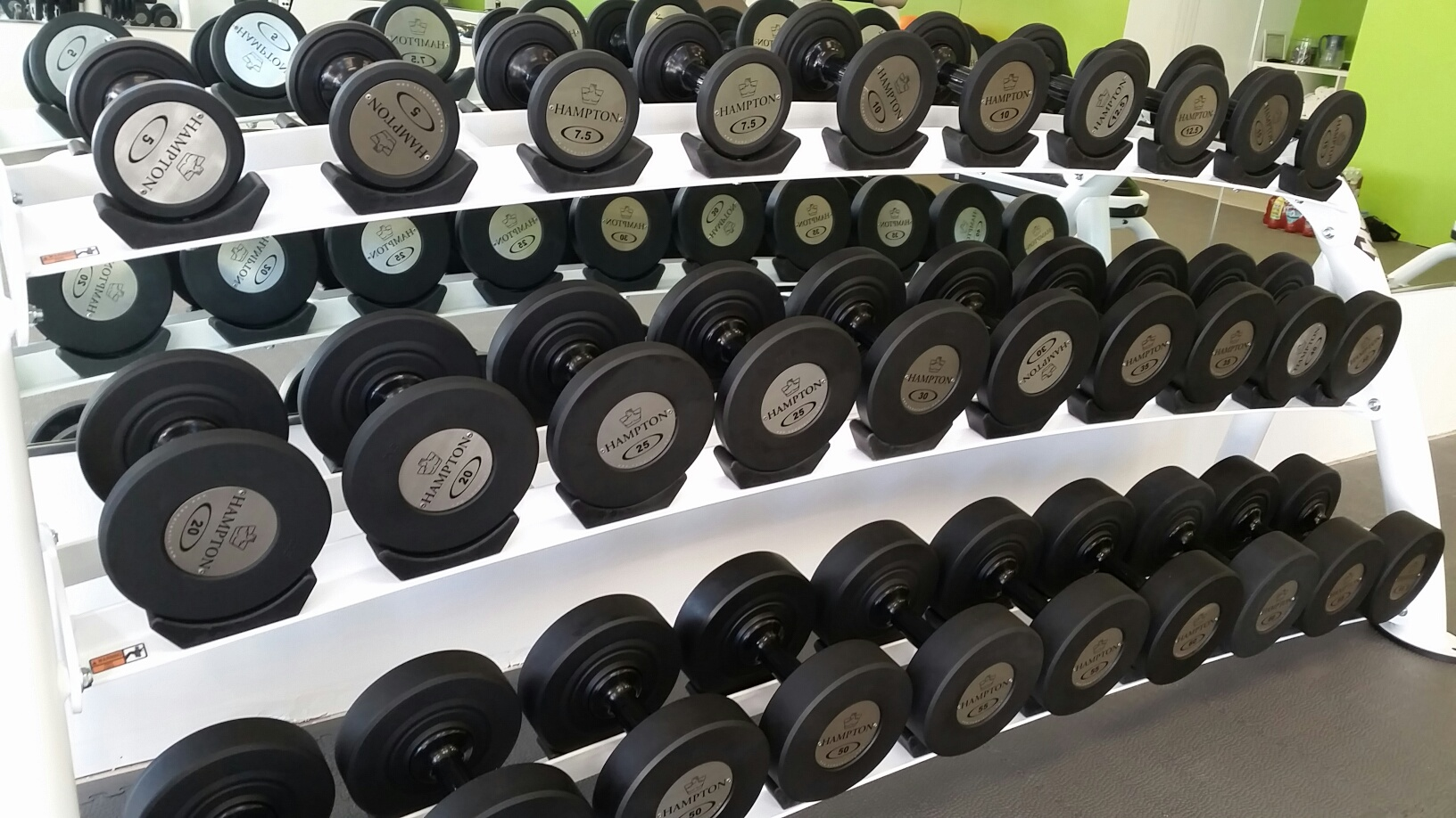 Hampton gel grip dumbbells!