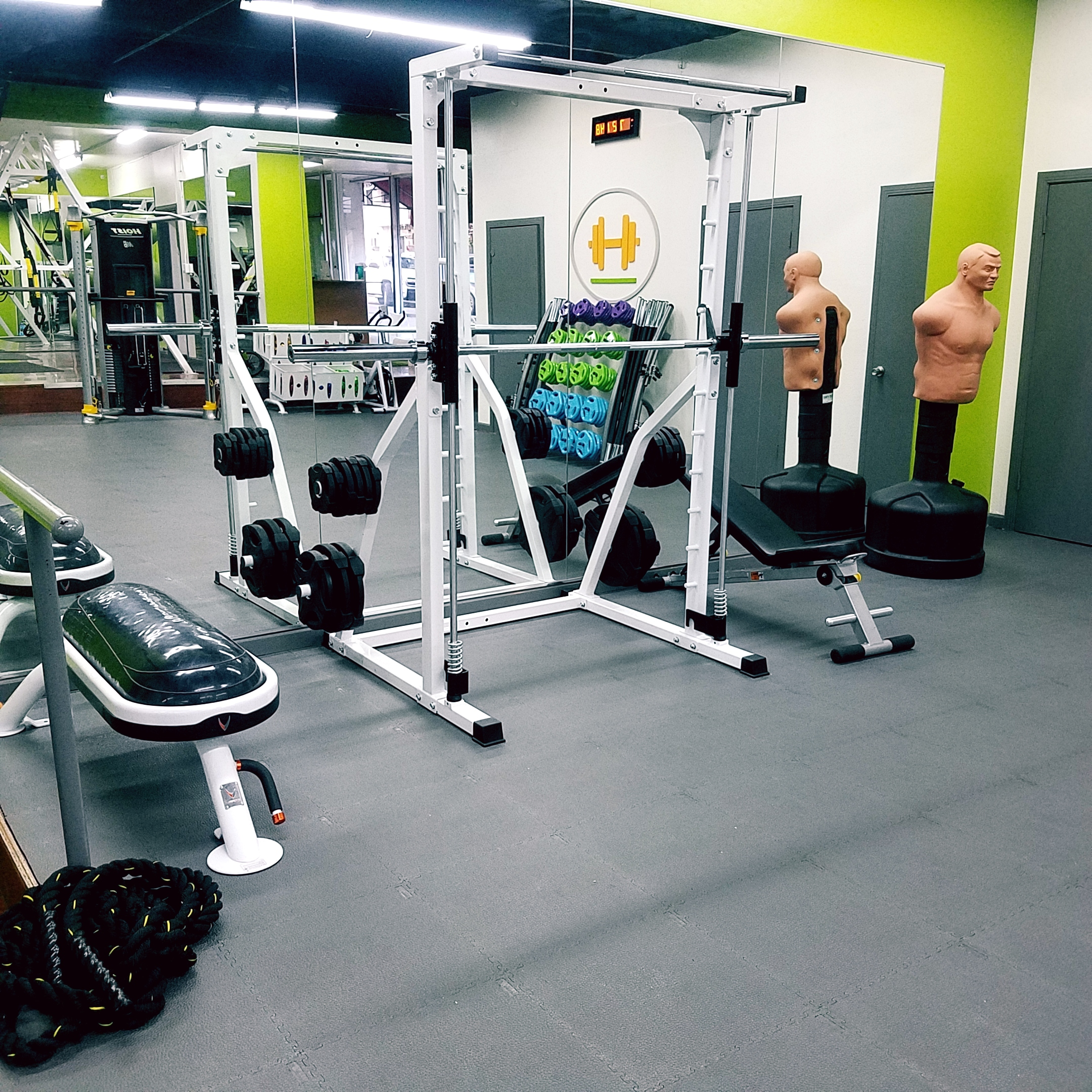 Smith machine Sage Fitness Group