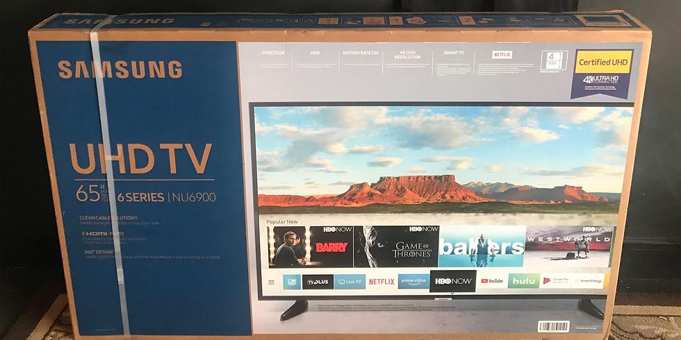 "TWO (2) 65"" Ultra HD Smart TV's"