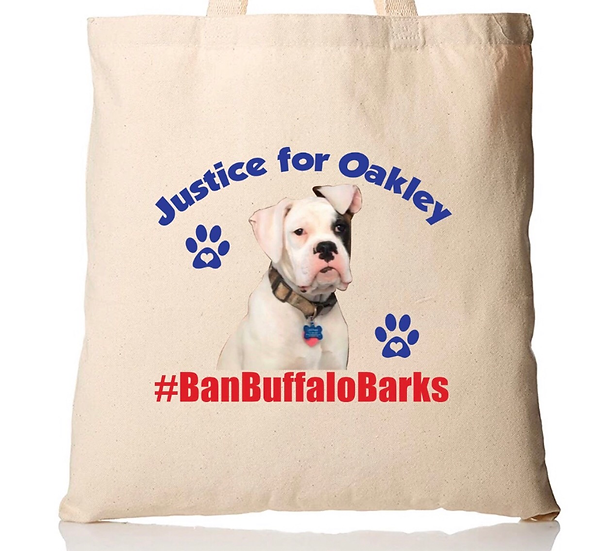 Justice for Oakley Canvas Bag