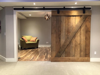 Reclaimed Sliding Barn Doors and Cost