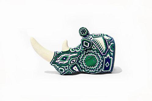 Ceramic Rhino Head