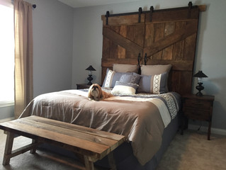 Reclaimed Doors and Bench (Pictures)
