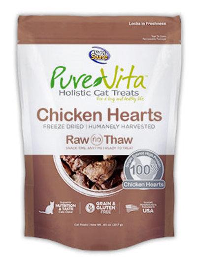 PureVita™ Holistic Grain Free Freeze Dried Chicken Hearts