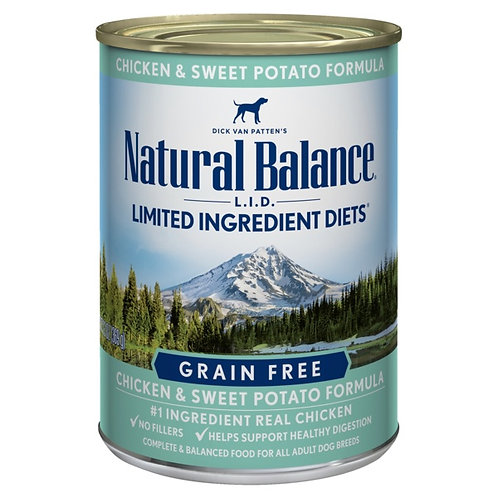 Natural Balance L.I.D. Chicken and Sweet Potato Wet Food