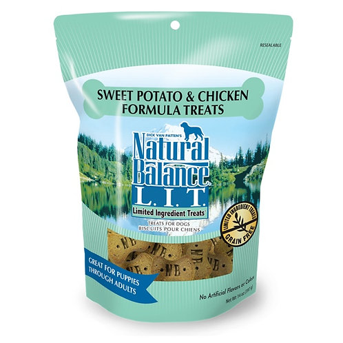 Natural Balance Limited Ingredient Sweet Potato and Chicken Treats