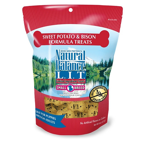 Natural Balance Limited Ingredient Sweet Potato and Bison Small Breed Treats