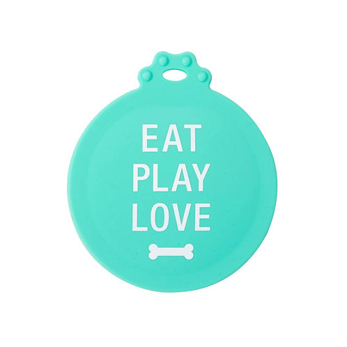 Dog Food Can Cover Eat Play Love