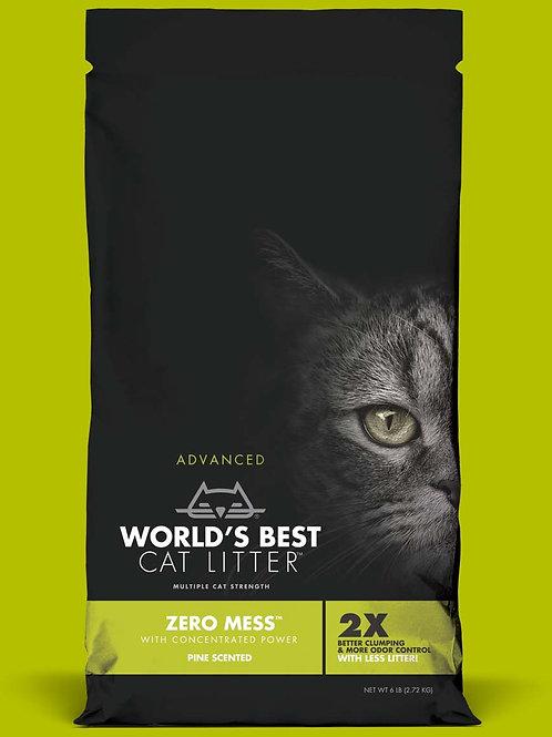World's Best Cat Litter Zero Mess Pine Scent #6