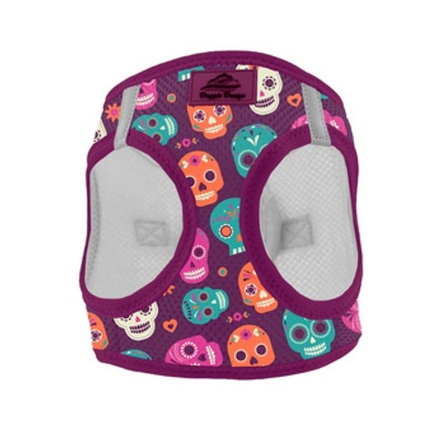 American River Choke Free Dog Harness - Sugar Skulls