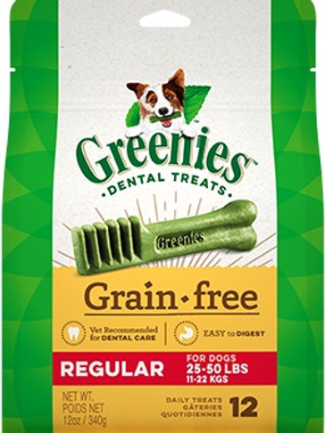 GREENIES™ Grain Free Regular Size Dog Dental Treats