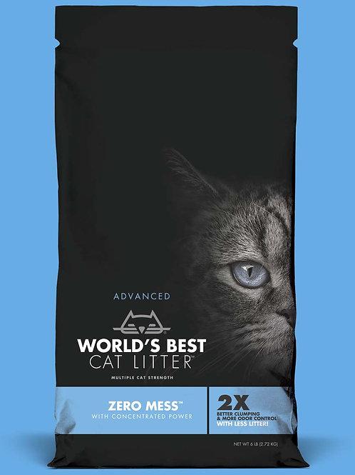 Word's Best Cat Litter Zero Mess Clumping #6