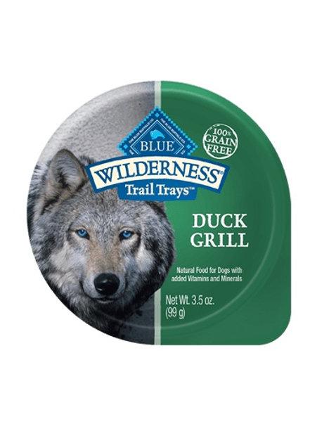 BLUE Buffalo Wilderness Duck Grill Wet Food Tray