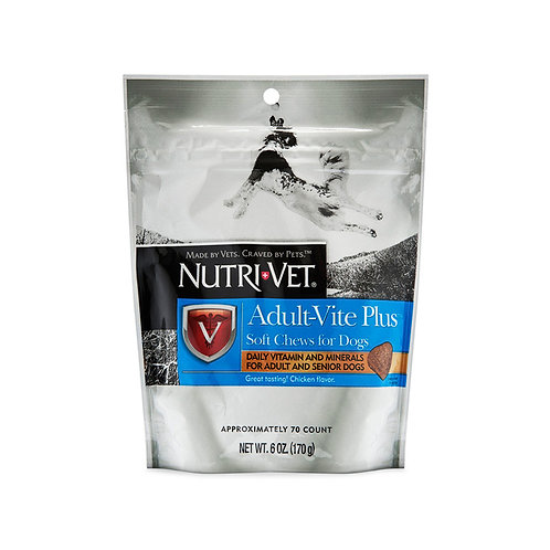 NutriVet Adult Vitamin Soft Chews 6oz