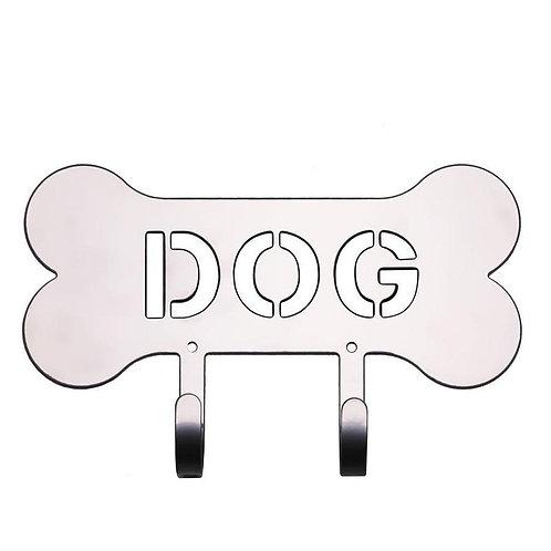 Dog Leash Holder Silver Harry Barker