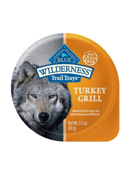 BLUE Buffalo Wilderness Turkey Grill Wet Food Tray