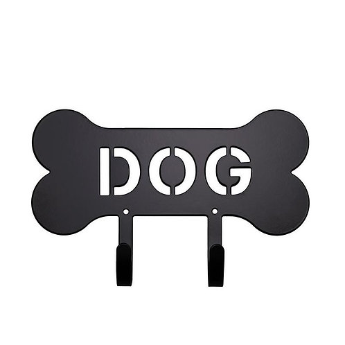 Dog Leash Holder Black Harry Barker
