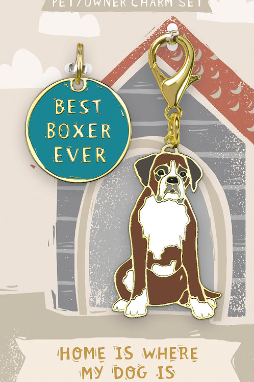 Best Boxer Ever Charm Set