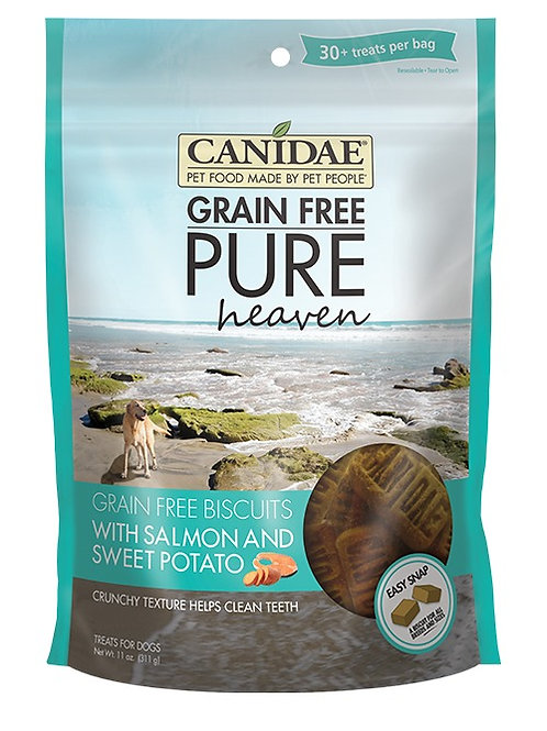 CANIDAE® Grain Free PURE Heaven Biscuits With Salmon & Sweet Potato