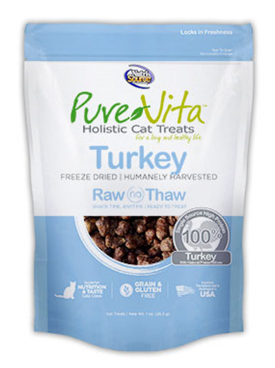 PureVita Turkey Freeze Dried Delights For Cats