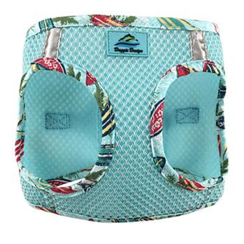 American River Choke Free Harness Hawaiian Trim - Aruba Blue