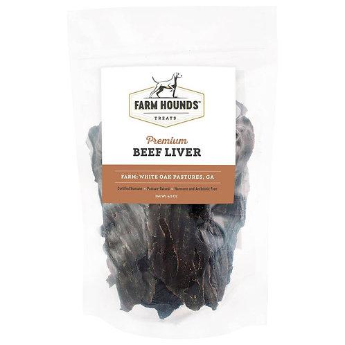 Farm Hounds Beef Liver 4.5oz