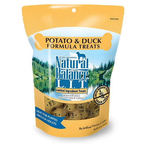 Natural Balance Limited Ingredient Potato and Duck Treats
