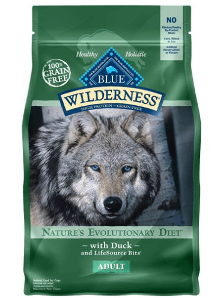 BLUE Buffalo Wilderness Adult Diet Duck 4.5#