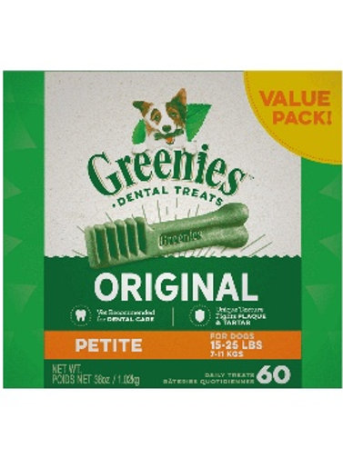 GREENIES™ Original Petite Dog Dental Treats