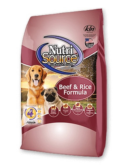 NutriSource Beef and Rice Formula Dry Dog Food #15