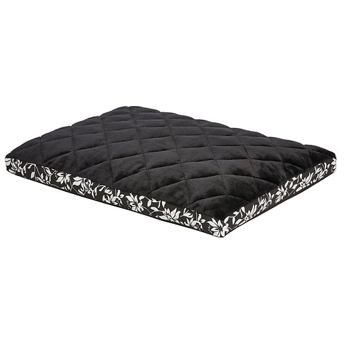 Quiet Time Crate Mattress Couture Black Floral 24""