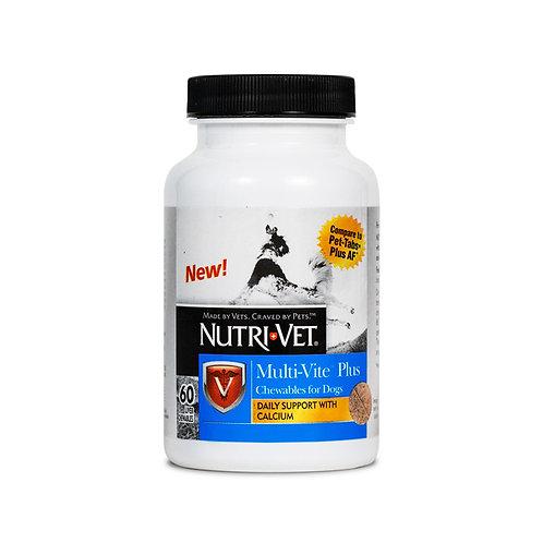 NutriVet Multi-Vite Plus Chewable Tablets 60 Count