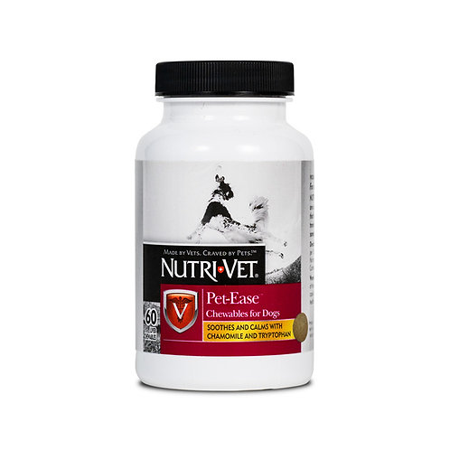 Nutri-Vet Pet-Ease™ Anxiety supplements 60 Count