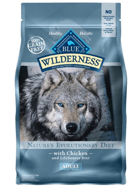 BLUE Buffalo Wilderness Adult Diet Chicken 4.5#