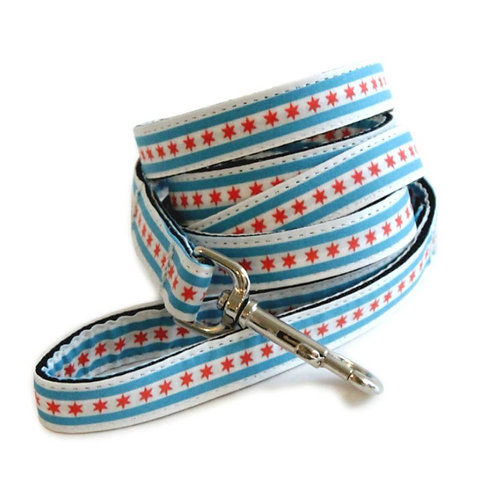 Chicago Flag Dog Leash