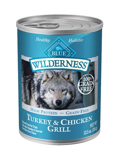 BLUE Buffalo Wilderness Turkey & Chicken Grill