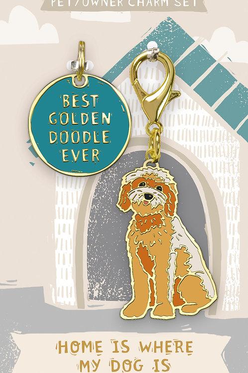 Best Goldendoodle Ever Charm Set