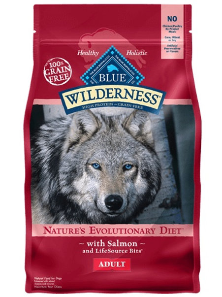 BLUE Buffalo Wilderness Adult Diet Salmon 4.5#