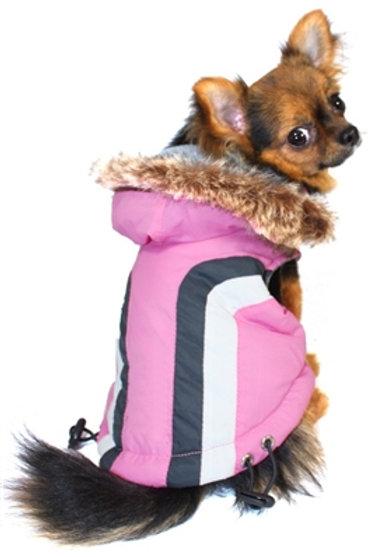 Swiss Alpine Pink Ski Coat