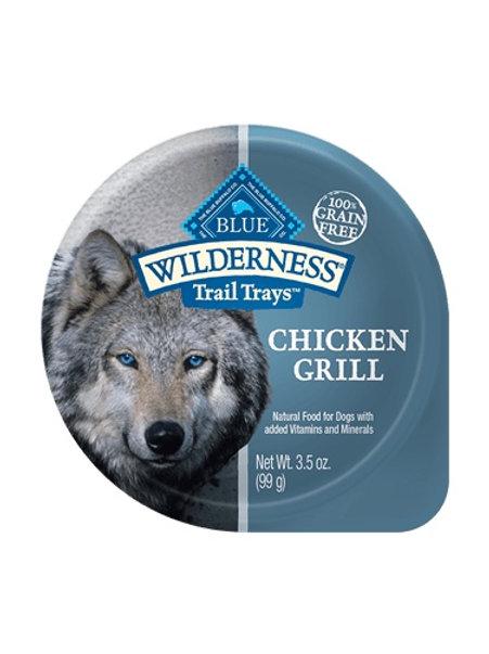 BLUE Buffalo Wilderness Chicken Grill Wet Food Tray