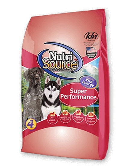 NutriSource Super Performance Chicken and Rice Formula #40