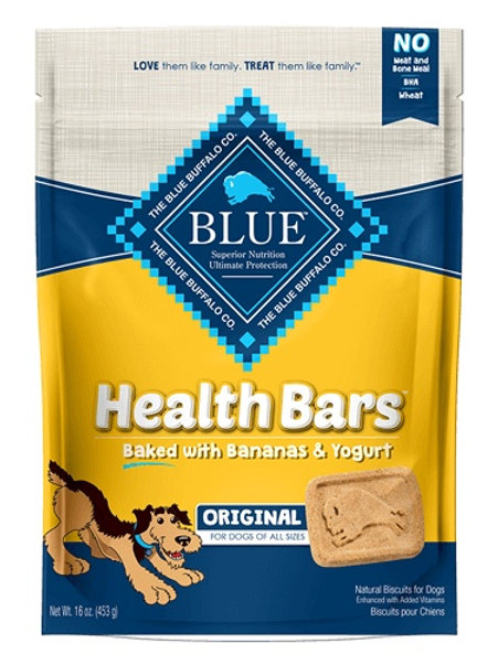 BLUE Buffalo Health Bars Banana & Yogurt